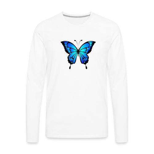 Mariposa - Camiseta de manga larga premium hombre