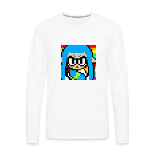 Is00lotionLogo - Männer Premium Langarmshirt