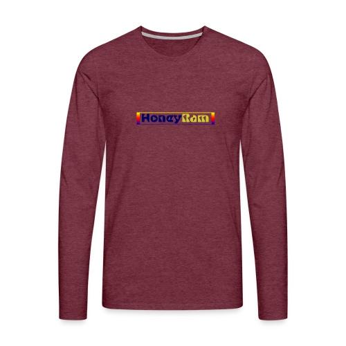 present by HoneyRam - Männer Premium Langarmshirt