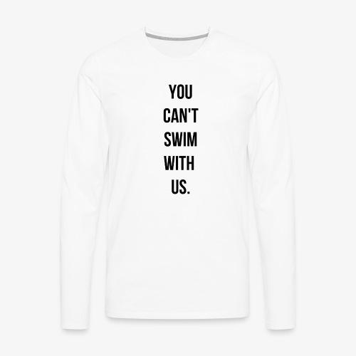swim - T-shirt manches longues Premium Homme