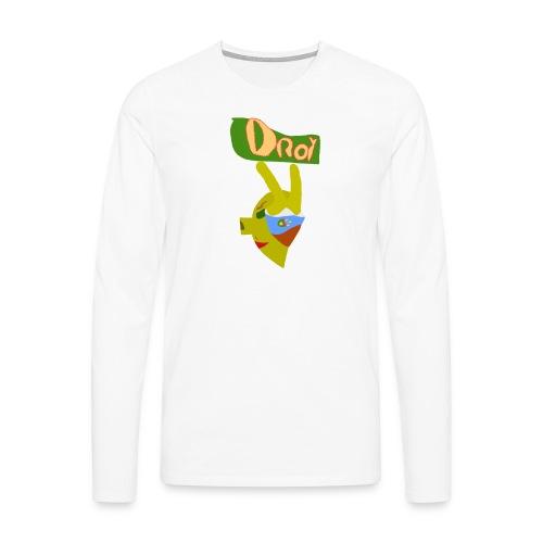 Droy - Långärmad premium-T-shirt herr