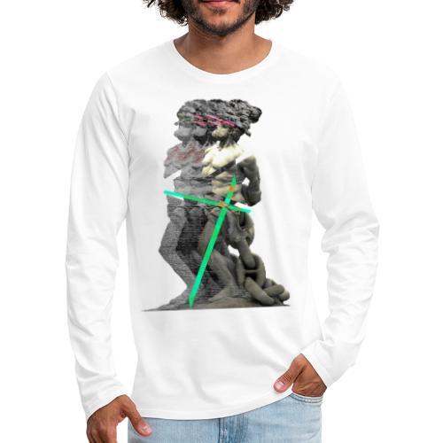 Gladiatore - Maglietta Premium a manica lunga da uomo