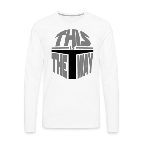 masqueWay2 - T-shirt manches longues Premium Homme