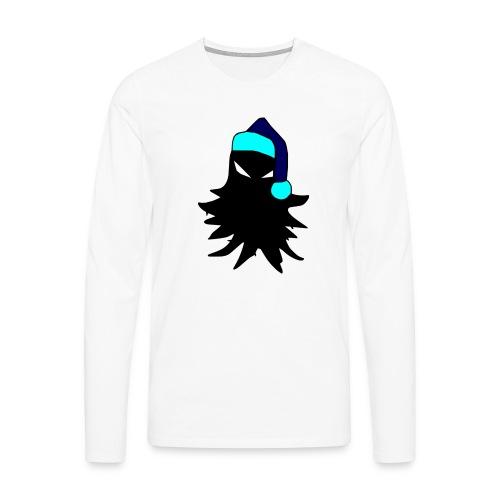 tricolored - Miesten premium pitkähihainen t-paita