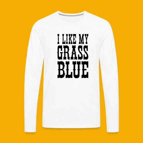 bluegrass - Mannen Premium shirt met lange mouwen
