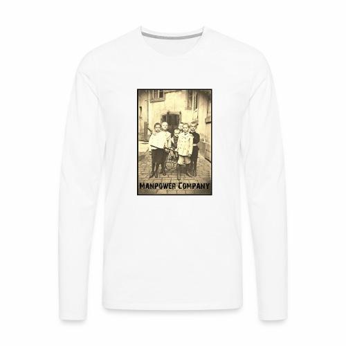 Manpower Company - Männer Premium Langarmshirt