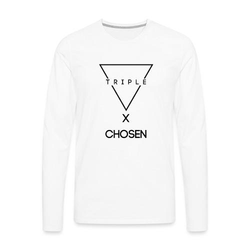 NEW TRIPLE LOGO Design X Chosen - Men's Premium Longsleeve Shirt