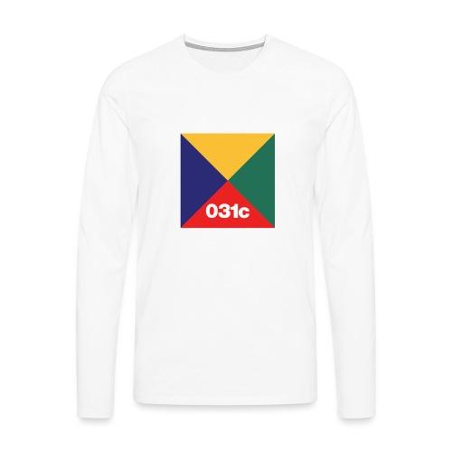 multicolor - T-shirt manches longues Premium Homme