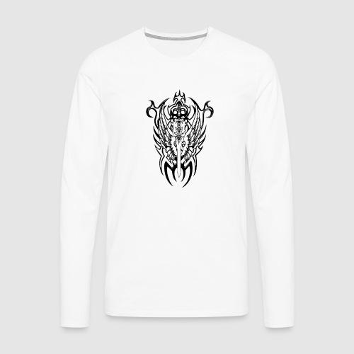 Tattoo Style - Männer Premium Langarmshirt
