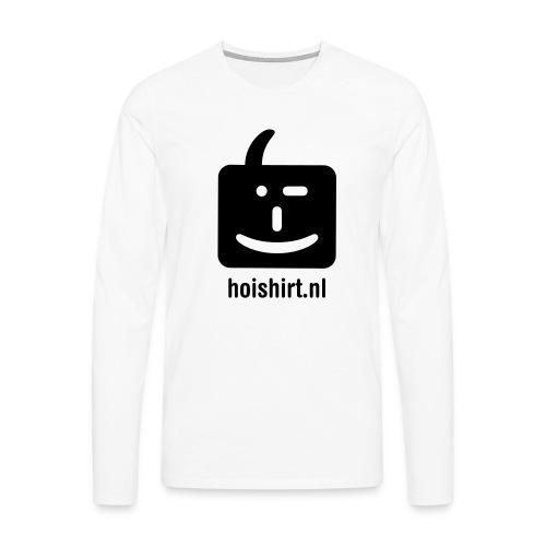 hoi back ai - Mannen Premium shirt met lange mouwen