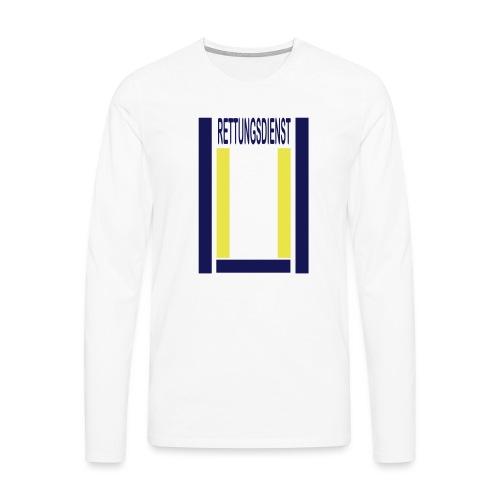 Rettungsdienst Junior Shirt - Männer Premium Langarmshirt