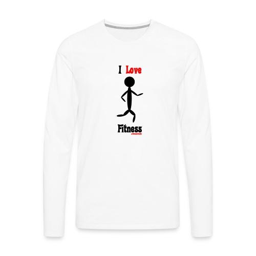 Fitness #FRASIMTIME - Maglietta Premium a manica lunga da uomo