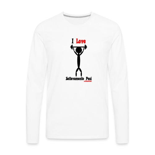 Sport #FRASIMTIME - Maglietta Premium a manica lunga da uomo