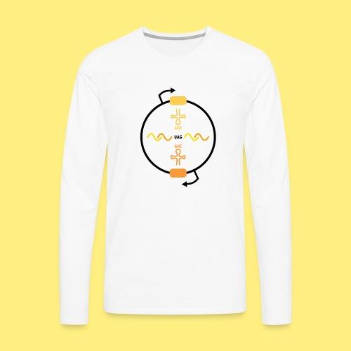 Biocontainment tRNA - shirt men - Mannen Premium shirt met lange mouwen