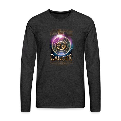 CANCER - T-shirt manches longues Premium Homme