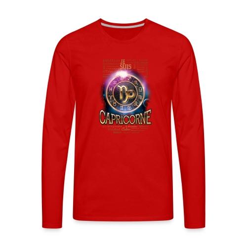 CAPRICORNE - T-shirt manches longues Premium Homme