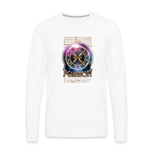 POISSONS - T-shirt manches longues Premium Homme