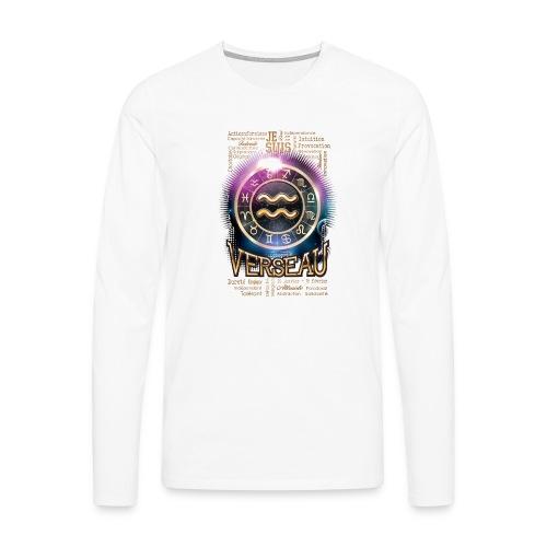 VERSEAU - T-shirt manches longues Premium Homme
