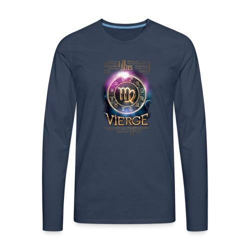VIERGE - T-shirt manches longues Premium Homme