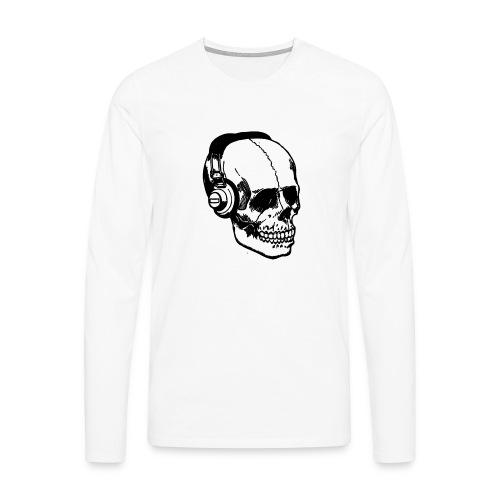 lydbog_6 - Herre premium T-shirt med lange ærmer