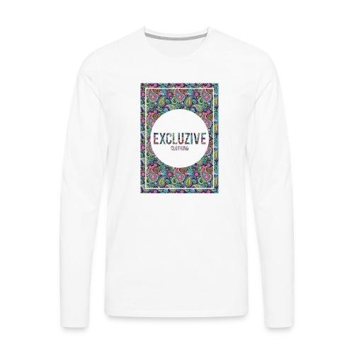 Colour_Design Excluzive - Men's Premium Longsleeve Shirt