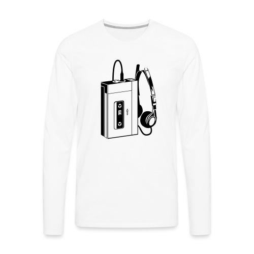 WALKMAN - T-shirt manches longues Premium Homme