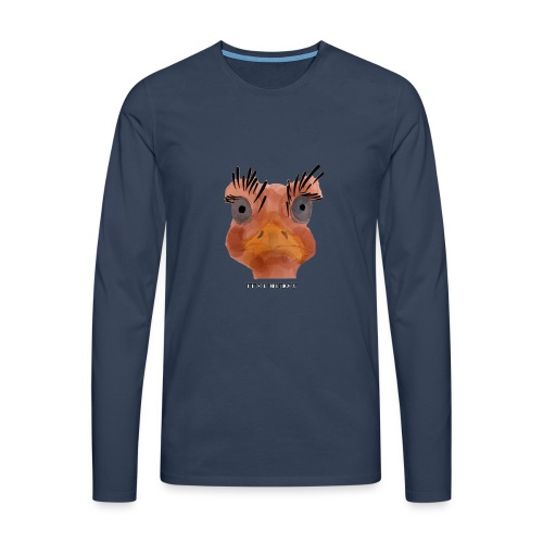 Srauss, again Monday, English writing - Men's Premium Longsleeve Shirt