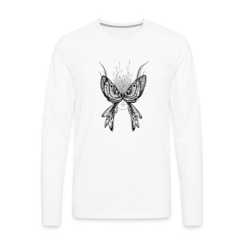 Nachtfalter - Männer Premium Langarmshirt