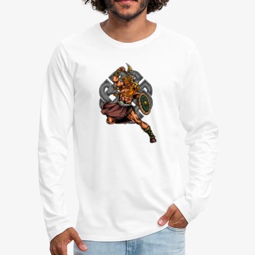 Wikinger-Krieger - Männer Premium Langarmshirt