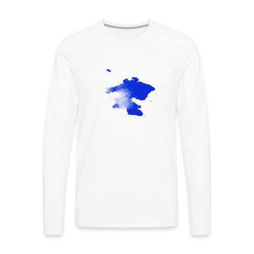 ink splatter - Men's Premium Longsleeve Shirt