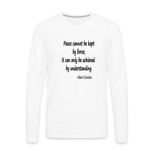 Achieve Peace - Men's Premium Longsleeve Shirt