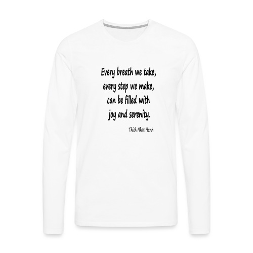 24/7 Peace - Men's Premium Longsleeve Shirt