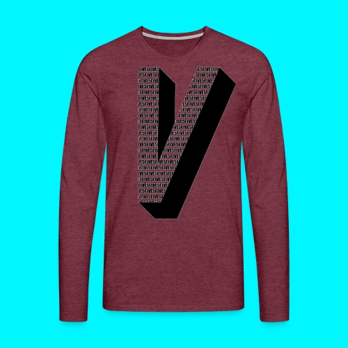 FIVES big V - T-shirt manches longues Premium Homme
