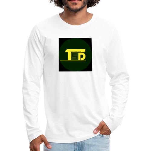 tricks and skills denmark - Herre premium T-shirt med lange ærmer