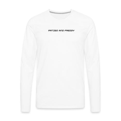 PatigoAndFreddy - Herre premium T-shirt med lange ærmer