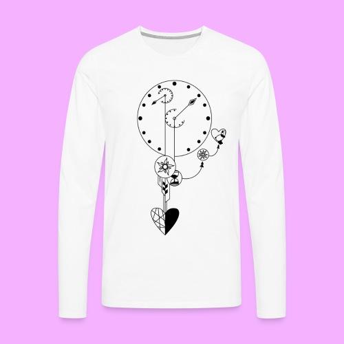 L'amour - T-shirt manches longues Premium Homme