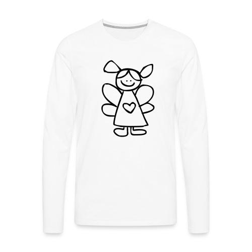 belinda's engeltje - Mannen Premium shirt met lange mouwen