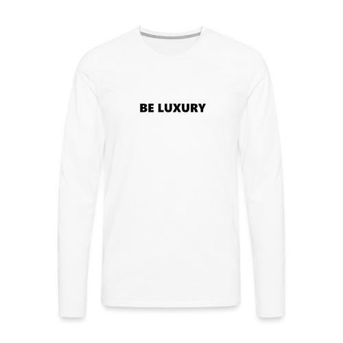 LUXURY CASE 6/6S - Mannen Premium shirt met lange mouwen