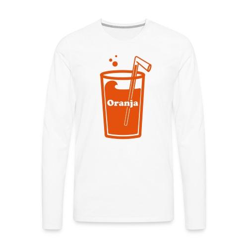Oranja - Mannen Premium shirt met lange mouwen