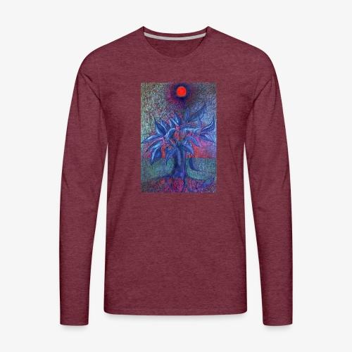 DrzewoKwiat - Koszulka męska Premium z długim rękawem