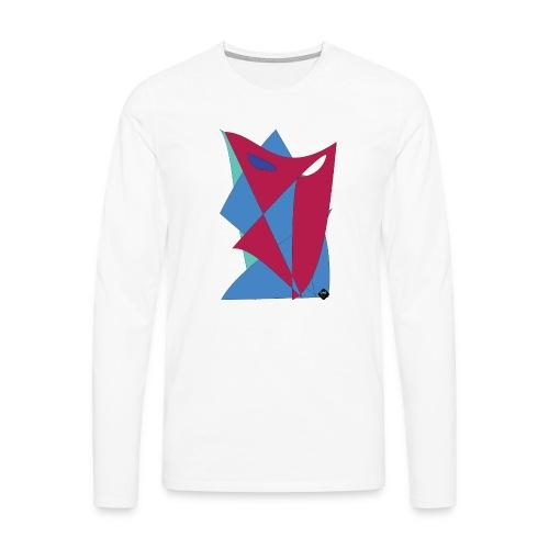Artwork_One_U - Långärmad premium-T-shirt herr
