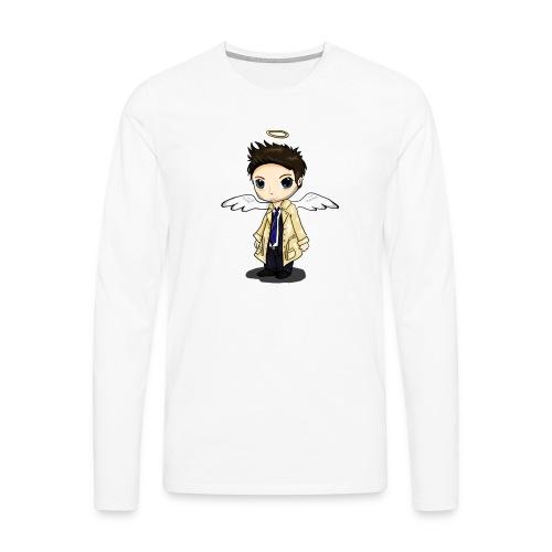 Team Castiel (dark) - Men's Premium Longsleeve Shirt