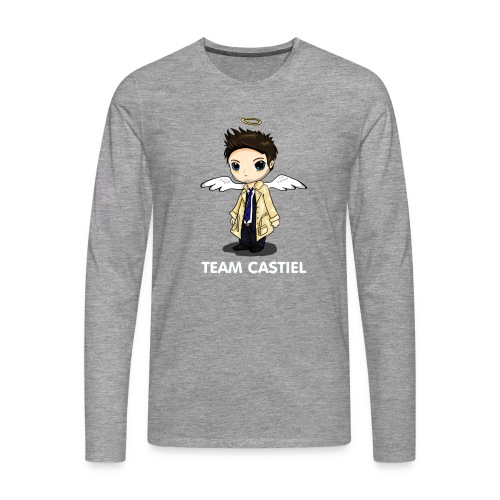 Team Castiel (dark) - Men's Premium Longsleeve Shirt