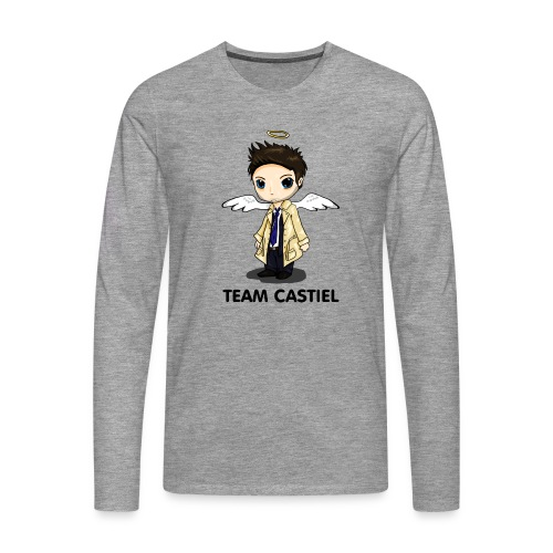 Team Castiel (light) - Men's Premium Longsleeve Shirt