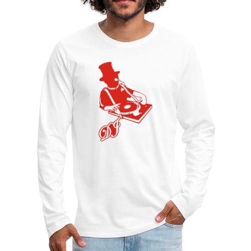 DJ Anno 1887 © forbiddenshirts.de - Männer Premium Langarmshirt