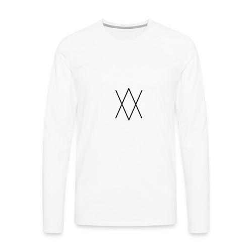 Above - T-shirt manches longues Premium Homme