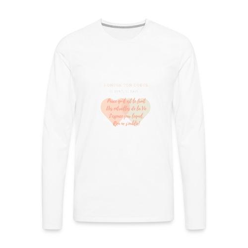 Coeur - T-shirt manches longues Premium Homme