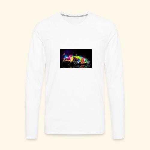T-Shirts - Mannen Premium shirt met lange mouwen