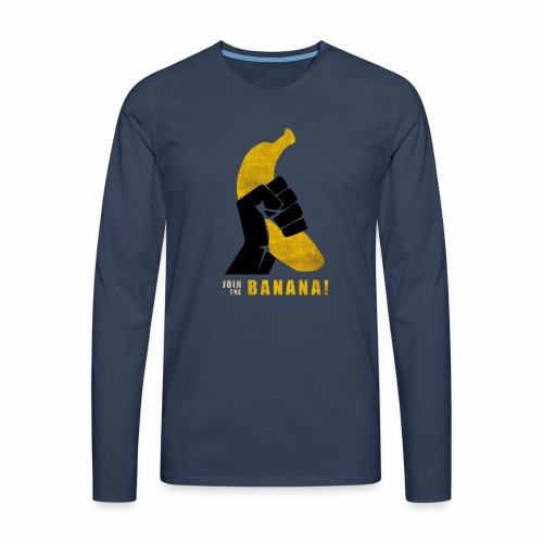Join the Banana ! Wankil - T-shirt manches longues Premium Homme
