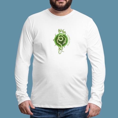 Jormungand logo png - Maglietta Premium a manica lunga da uomo